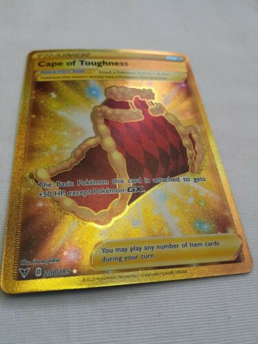 Pokemon Vivid Voltage Cape Of Toughness Full Art Trainer 200/185 Nice LOOK!