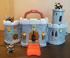 Fisher Price Great Adventures All In One Castle 3 Knights Model 72849 Great Toy!