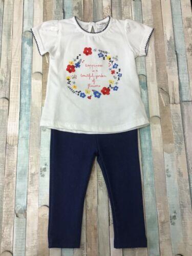 Baby Girls 2 Piece Top Leggings Set 0-12 Months