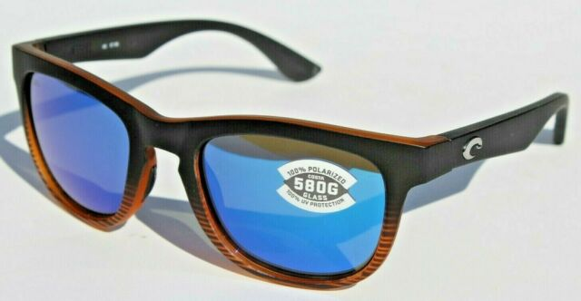 2110ef94dca5 Costa Del Mar Copra Cop 76 Retro Tortoise With Black Temples Sunglasses  Blue 580g for sale online | eBay