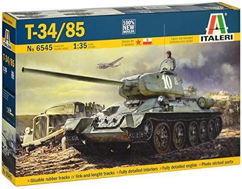 T34-85  1 35 Military - Italeri 6545