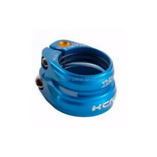KCNC SC13 Twin Seat Post Clamp Seat Tube:30.7mm//Seat Post:27.2mm Blue