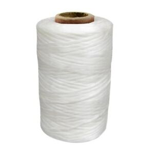 1-Single-Spool-White-Sinew-Waxed-Beading-Craft-Poly-Thread-Artificial-Wax-Sinue