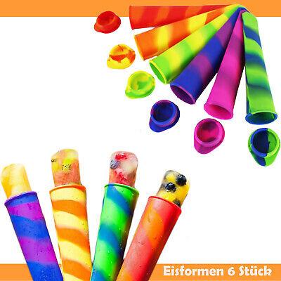 BPA Frei Kinder Deckel Silikon Eisform Maker Pop Eis am Stiel Form für Eistüte