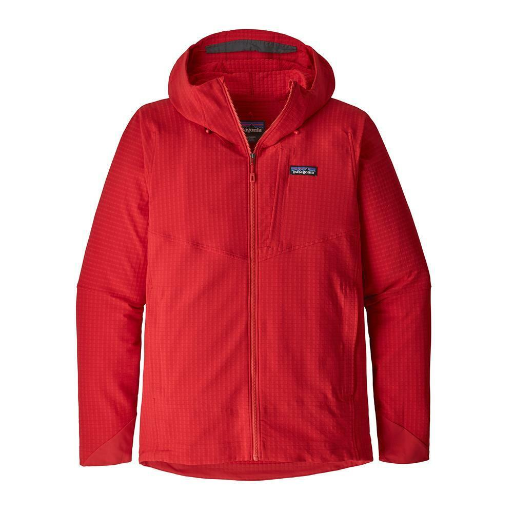 Patagonia m's R1 Techface Hoody, Fire