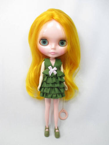 Outfit Clothing costume Handmade layers Dress for Blythe doll 820-57