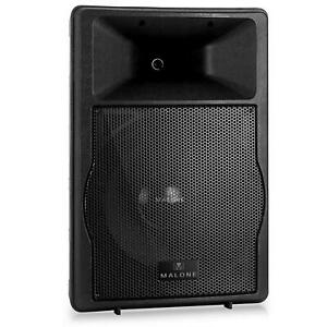 mobiler pa lautsprecher aktiv box monitorbox subwoofer 750w rms konzert ebay. Black Bedroom Furniture Sets. Home Design Ideas