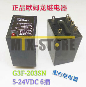 1pcs-IN-BOX-Omron-Brand-New-Solid-State-Relay-G3F-203SN-5-24VDC
