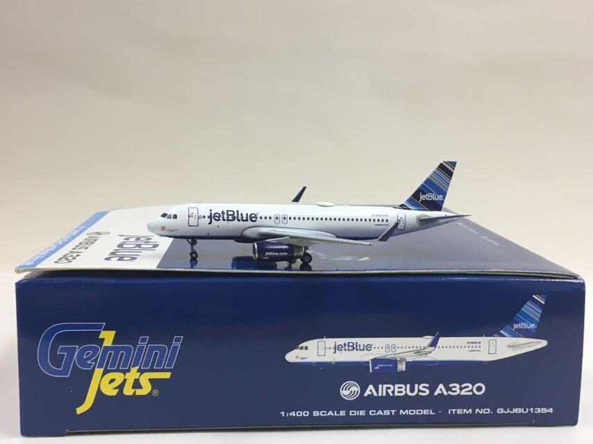 Gemini Jets jetblu Airbus A320 1:400 GJJBU1354 N805JB