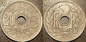 Frankreich - Regierung Remand - 20 Cent Lindauer 1945 - F.155 / 2
