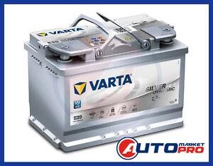BATTERIA-PER-AUTO-VARTA-E39-AGM-70AH-760A-12V-START-amp-STOP-278x175x190-MM