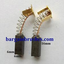 Spazzole di Carbonio per adattarsi Golf Trolley MOCAD ELECTRIC RICAMBI E108