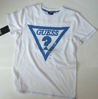 Guess Tshirt White Size 7-8 Years Boys Authentic