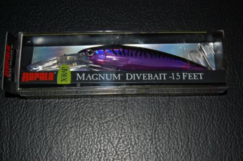 Rapala X-Rap Magnum XRMAG15-PM Purple Mackerel 120mm Deep Diving 15/' Lure