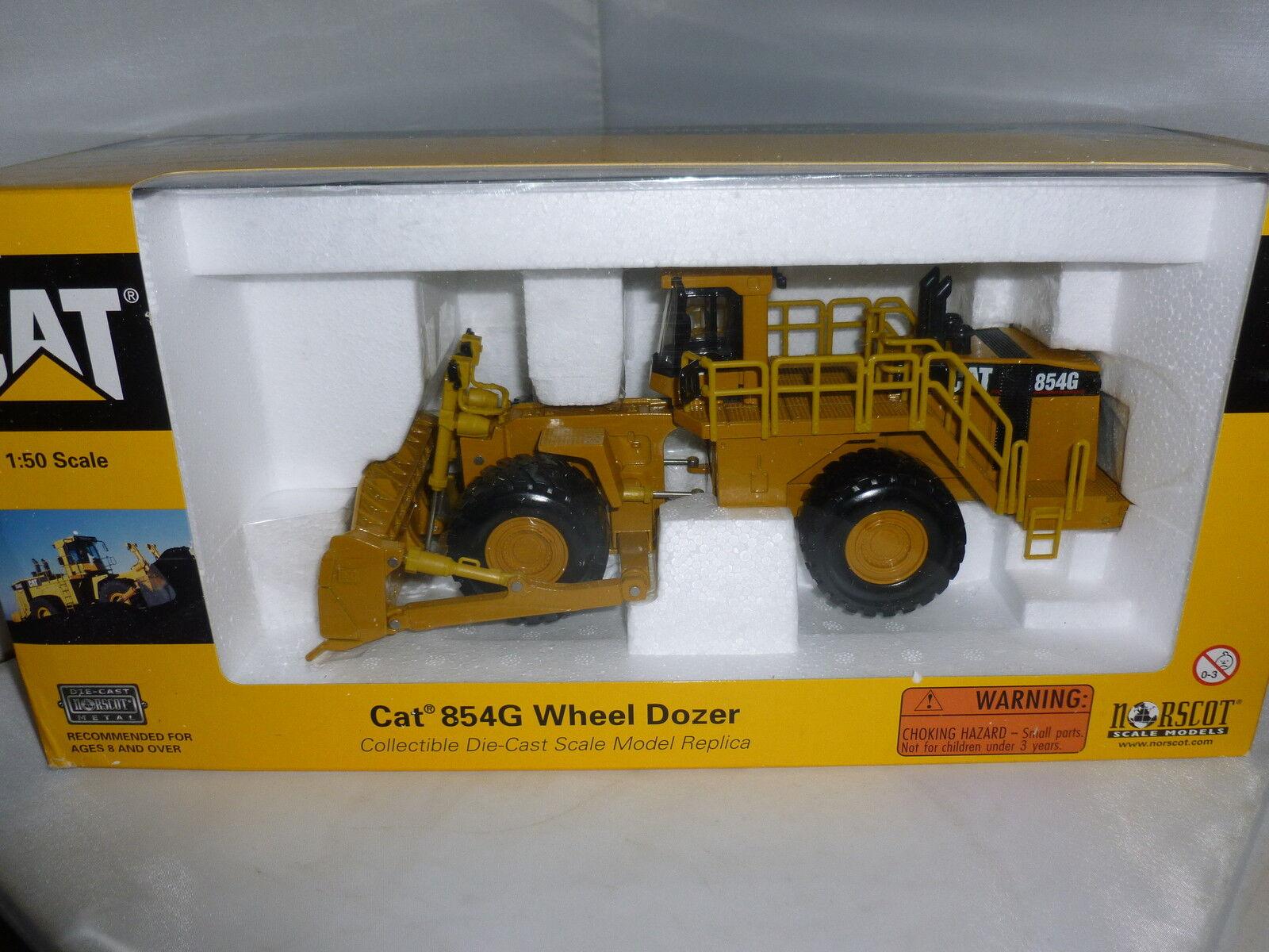 Norscot Caterpillar 854G Rueda Dozer Diecast