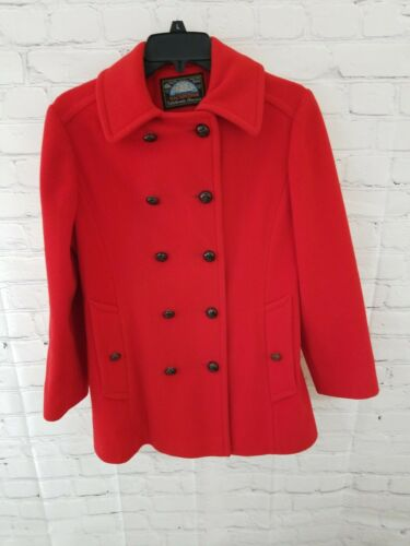 Mackintosh Womens Peacoat Authentic Red 8 100% Woo