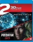 Prometheus / Predator Double Feature Blu-ray 3d