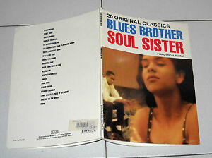 Spartiti-Songbook-BLUES-BROTHER-SOUL-SISTER-20-original-classics-Piano-Vocal