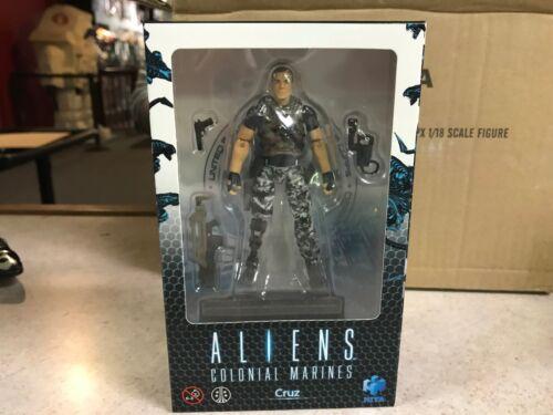 USA 2018 Hiya Toys Previews PX Aliens Colonial Marines CRUZ 1//18th Figure NIB