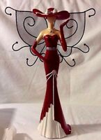 Avon Glamorous Lady Birthstone Jewelry Holder 2011 Retired