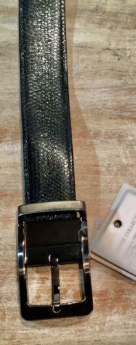 Genuine Python Snake leather Belt exotic reversible removable buckle