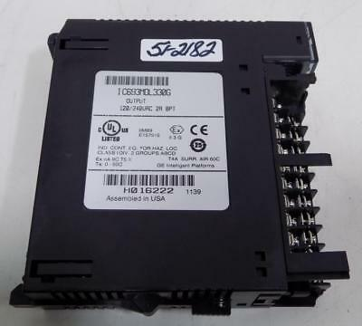 GE Fanuc IC693MDL330F Output Module 120//240VAC 2A 8PT With Cover Warranty