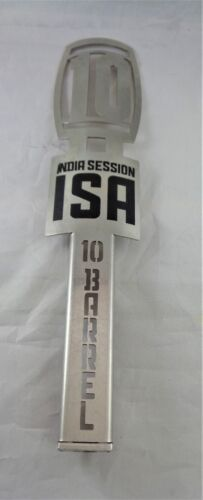"10 BARREL BREWING JOE IPA 11 12 "" METAL ISA TAP HANDLE ""RARE"""