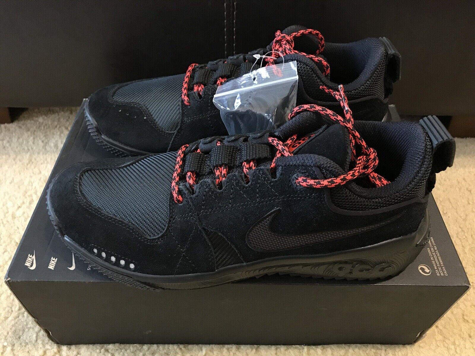 Nike ACG Dog Mountain Men's sz 11 Women's 12.5 Black AQ0916-003