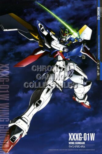 GUNW31 Mobile Suit Gundam Wing Anime Poster Glossy Finish RGC Huge Poster