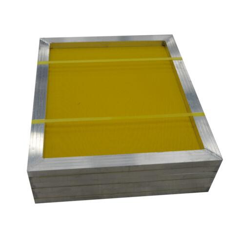 "US Stock 6pcs 23/"" x 31/"" Silk Screen Printing Screens Frame 230 Yellow Mesh"