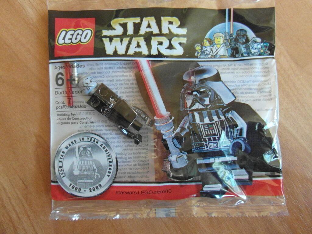 LEGO Stern Wars Darth Vader Chrome 4547551 OVP limitierte Auflage Polybag