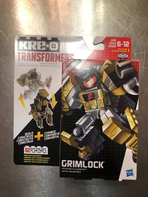 KRE-O Transformers Kreon Battle Changer 73pc DECEPTICON SHOCKWAVE Building Toy!
