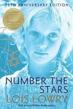 Number the Stars by Lowry Lois (2014, Hardcover, Anniversary)