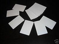 500 Pvc Plastic Photo Id Blank Credit Card 30mil White