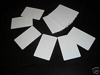 500 Pvc Plastic Photo Id Blank Credit Card 30mil White