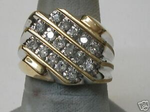 Gents-Diamond-Cluster-Ring-Yellow-Gold-794