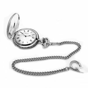 Regent 31712-50ATLCS Der Roofers Pocket Watch Hand Wound with Chain