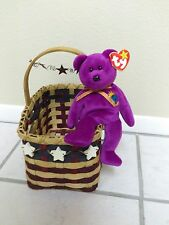 """Ty BEANNIE BABY """"MILLENIUM"""" 1999-2000 RARE WITH TAG ERROR"""