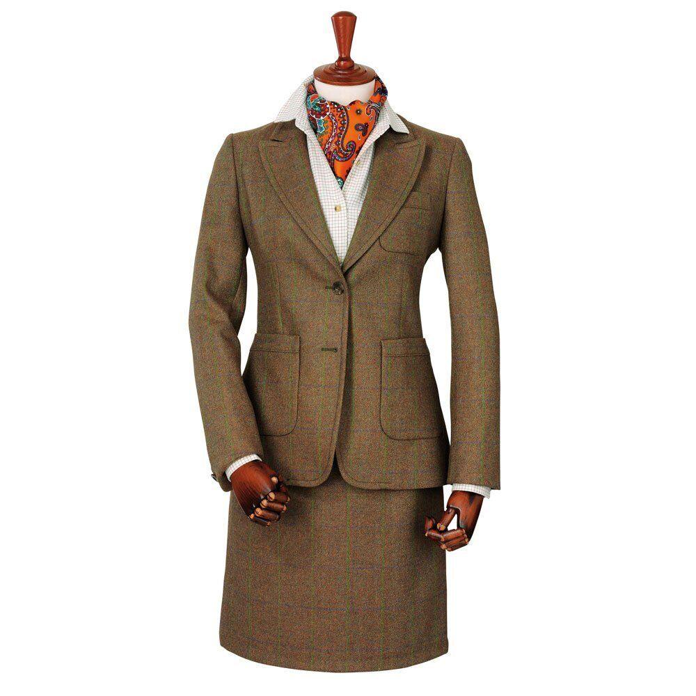 Chaqueta señoras vestido de tweed Laksen Tyne-todos Los Tamaños-Nuevo