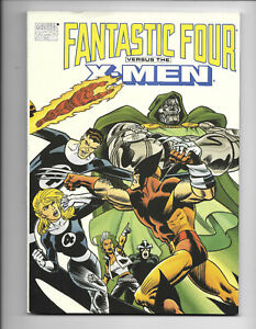 Fantastic-Four-Versus-The-X-Men-1-1990-VF-TPB-1St-Print-Marvel-Comics