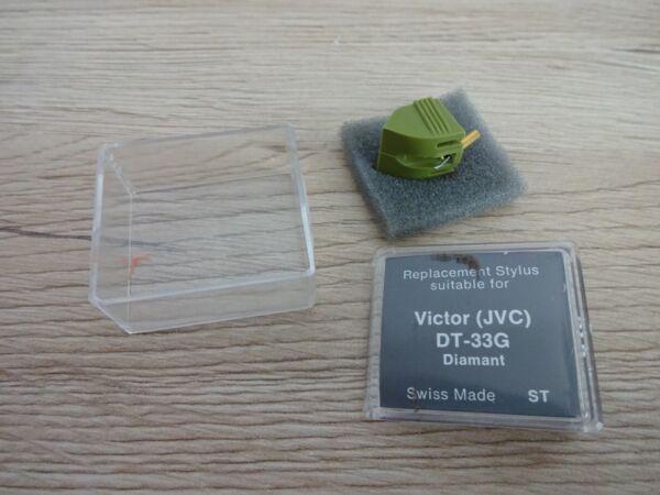 Unbenutzt Nachbau Für Victor (jvc) Nadel Dt-33g 12 Monate Garantie* Verkoopprijs
