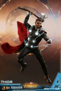 Hot-Toys-Marvel-Avengers-Infinity-Guerre-Thor-1-6-Scale-Figure-en-stock-USA-Vendeur