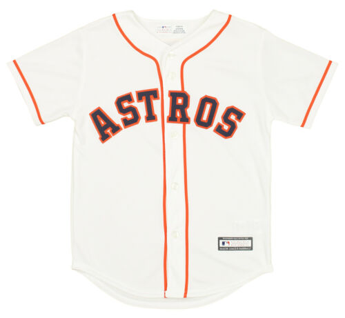 Majestic MLB Baseball Youth Houston Astros Home Jersey White