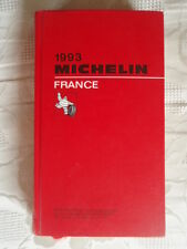 GUIDE MICHELIN ROUGE FRANCE 1993