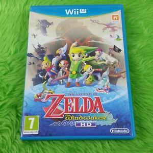 Wii U Zelda The Wind Waker HD The Legend of Zelda Nintendo PAL UK version | eBay