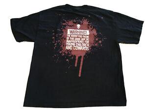 RARE-VINTAGE-PROMO-SHIRT-Splatterhouse-T-Shirt-Video-Game-Promotional-VTG-XL-HTF