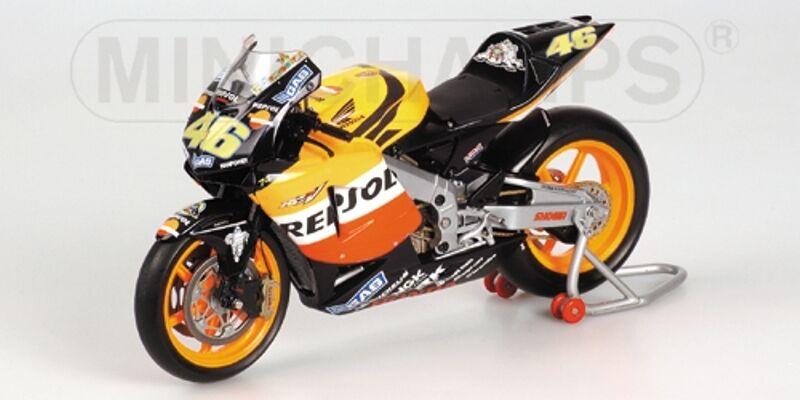 MINICHAMPS 037146 Original question HONDA RC211V V Rossi Repsol MotoGP 2003 1 12th