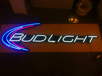 Bud Light Beer Iconic 6' Led Opti Neon - Rare - - Must See 72 Length