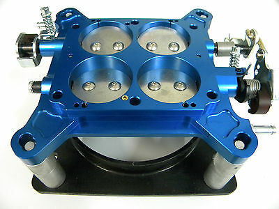 "Holley-QFT-AED Billet Base Plate Assembly 1 11//16/"" Alky 650-800 CFM Carburetors"