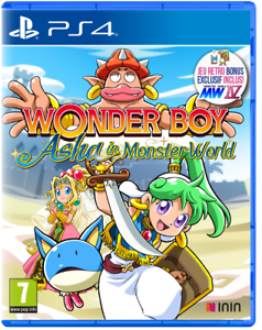 Wonder Boy Asha In Monster World PS4 Neuf sous blister